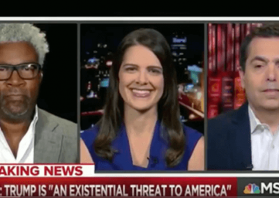 Watch Laurie on MSNBC's All in with Chris Hayes