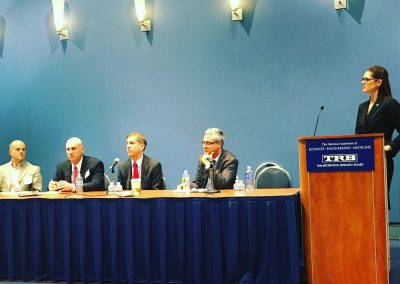 LAW moderating the Transportation Research Board's Unmanned Systems Panel